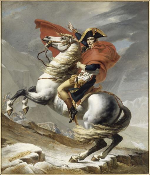 Napoleonfranchissantlepontdarcole