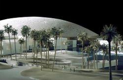 Maquette du Louvre d'Abou Dhabi
