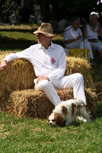 Jean-Jacques Aillagon lors du pique-nique du 14 juillet 09