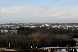 Vue depuis les Grands Appartements © EPV/ C. Milet