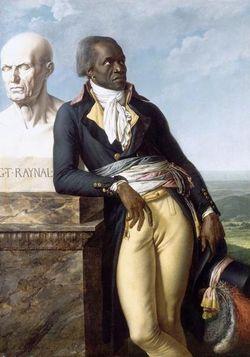 Jean-Baptiste Belley, député de Saint-Dominique à la Convention (1747-1805), par Anne-Louis Girodet De Roussy-Trioson, 1797, château de Versailles © RMN / Gérard Blot