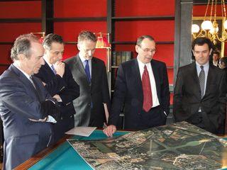 Siganture de l'accord de mécénat avec Hervé Le Bouc, Président-Directeur général de Colas © EPV