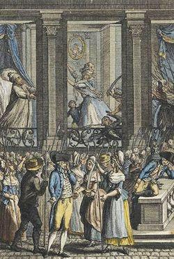 La terrible nuit du 5 au 6 octobre 1789, Anonyme © RMN / Gérard Blot