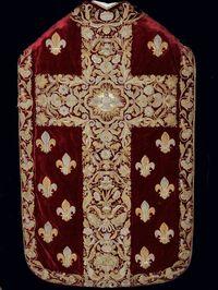 Chasuble de la Cathédrale du Mans © EPV/ C. Milet