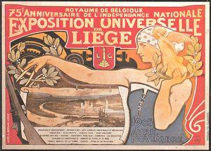Exposition universelle de  Liège, 1905 © Ville de Liège
