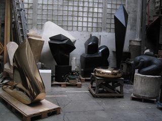 Atelier d'Emile Gilioli © Droits réservés