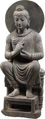 Bouddha de la région du Gandhara  © Christie's Images / Bridgeman Giraudon