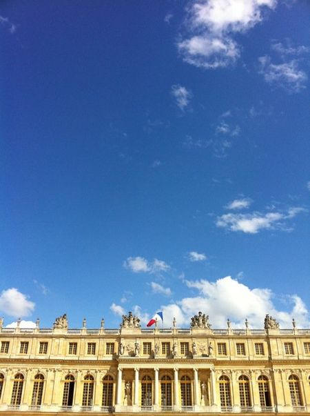 Le château de Versailles le 8 mai 2011 © DR