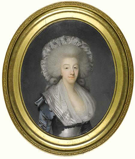 Portrait de la Comtesse d'Artois © Sotheby's